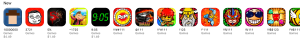 Some of the quality Role Playing Games in the Explore section of the iOS App Store.