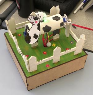 Cowterpillar robot
